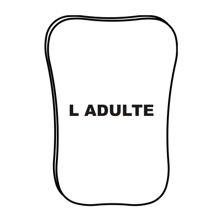 "LOT 10 MIROIRS ""L"" ADULTE..."