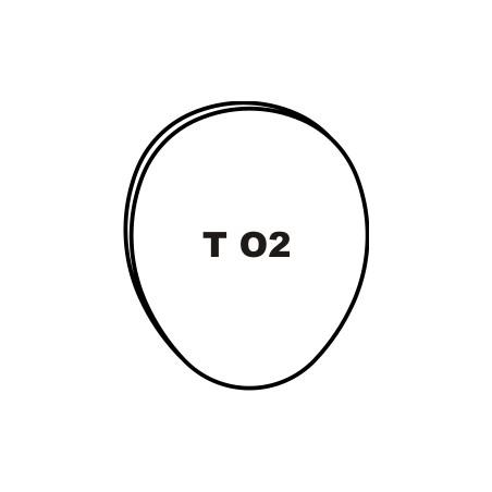 """""""O2"""" TITANIUM LINGUAL LARGE..."""