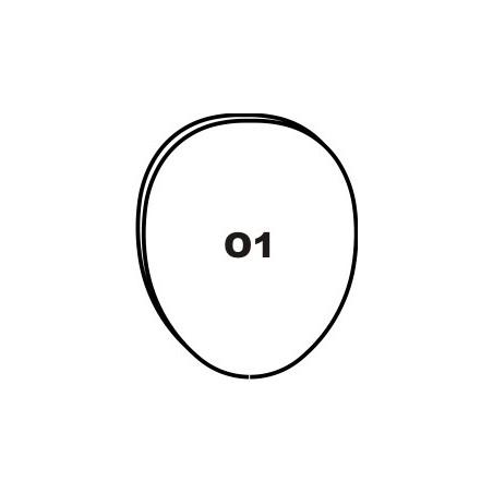"""O1"" CHROMIUM LINGUAL..."